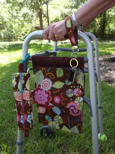 Walker Or Wheelchair Mobility Cads And Bags Sewing Project Round Up Pinterest Projects Rounding Bag