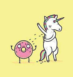 Drawing Donuts Unicorn