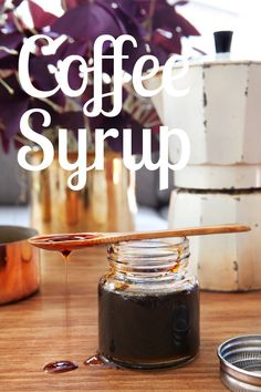 Coffee Essence and Coffee Syrup Recipe
