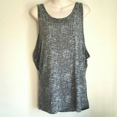 Loose fit GREY Studded Tank Ready for shipping. Reasonable Offers accepted. Thank you for shopping my closet! Xoxo Tops
