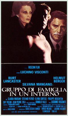 Gruppo di famiglia in un interno (Conversation Piece) - Italy 1974 direceted by Luchino Visconti. Cast: Burt Lancaster, Helmut Berger, Silvana Mangano, Claudia Marsani