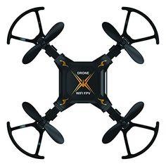 #2: ToyPark Mini Foldable Wifi FPV RC Quadcopter with HD 0.3MP Camera