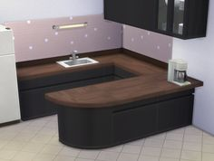 Mod The Sims - BlandCo Wood Countertops