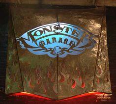 """""""Monster Garage Hood"""" (8' X 8' 16 gauge steel) by Dan Statler #vulturekulture #art"""