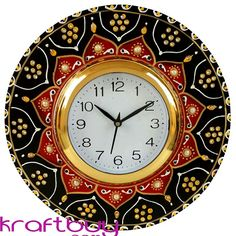 Wall Clock Price, Wall Clock Online, Home Decor Items, Handicraft, Antiques, Stuff To Buy, Drawings, Craft, Antiquities