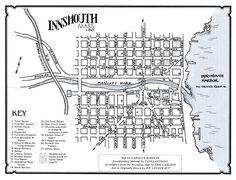 Panteón de Juda: Innsmouth: Mapa e Historia