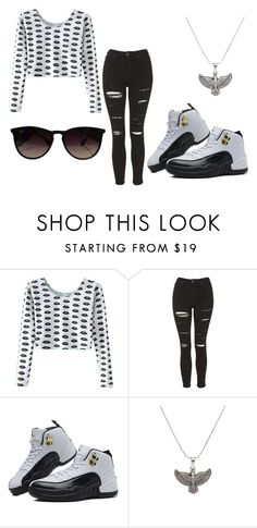 """Black and white"" by keke554 ❤ liked on Polyvore featuring interior, interiors, interior design, home, home decor, interior decorating, Topshop, TAXI, Alex and Ani and Ray-Ban"