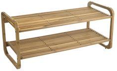 Přírodní bambusový botník | Nordic Day Entryway Bench, Dining Bench, Diy Box, Porch Swing, Outdoor Furniture, Outdoor Decor, Diys, Milan, Home Decor