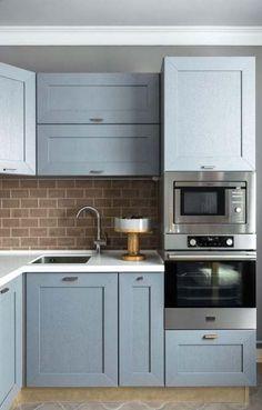Kitchen Ideas Color Blue Cupboards 47 Ideas For 2019 Copper Kitchen Decor, Kitchen Interior, New Kitchen, Kitchen Ideas, Kitchen Reno, Elegant Kitchens, Cool Kitchens, Cuisines Design, Kitchen Colors