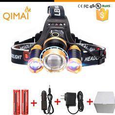 Купить товарLed Headlight 8000Lm Rechargeable Headlamp Flashlight Head Torch Linterna Xml T6+2Q5 Use 18650 Battery Car Charger Fishing Light в категории Светодиодные налобные фонарикина AliExpress. High Power LED Headlamp CREE XML T6 XM-L2 Rechargeable Headlight Head Torch For Hunting 18650 BatteryUSD 16.63-28.36/pie http://ppv.alipromo.com/ru/deals.php?hash=of8xp91hvfutqtnqop01koc5tqw4h6pc&sub=43&currency=USD