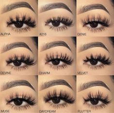 Eyelashes styles - Eye Makeup tips Eyeliner, Eyebrow Makeup, Eyeshadow, Applying Eye Makeup, Eye Makeup Steps, Makeup Goals, Makeup Inspo, Makeup Inspiration, Makeup Ideas
