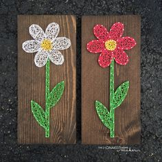 MADE TO ORDER String Art Flower Sign by TheHonakerHomeMaker