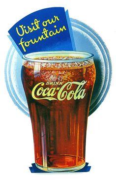 (via File Photo) Coca Cola Poster, Coca Cola Drink, Cola Drinks, Coca Cola Ad, Always Coca Cola, World Of Coca Cola, Coca Cola Vintage, Vintage Ads, Cocoa Cola
