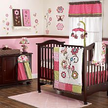 """CoCaLo Taffy 9-Piece Crib Bedding Set - Cocalo  - Babies""""R""""Us (like the color scheme not so sure about the design though)"""