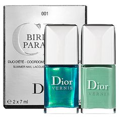 Dior Birds Of Paradise Nail Lacquer Duo