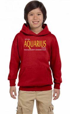 it's a aquarius thing 1 Youth Hoodie