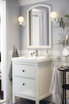 A spa retreat right in your own home - it's possible! Find clever IKEA products and ideas for you to furnish and organize your bathroom, just the way you want it.