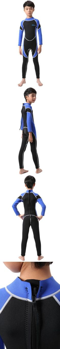 Youth 47355: Neoprene Wetsuit For Kids Boys Girls One Piece Swimsuit -> BUY IT NOW ONLY: $52.27 on eBay!