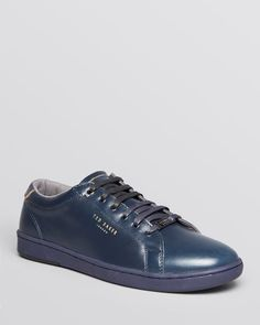 Ted Baker Theeyo Leather Sneakers