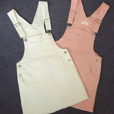 okaywowcool:  pastel overall dress| $14.43