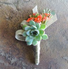 Outstanding 23 DIY Succulent Boutonnieres https://www.weddingtopia.co/2017/12/21/23-diy-succulent-boutonnieres/ Succulents make an outstanding place card holder since they double as a party gift.