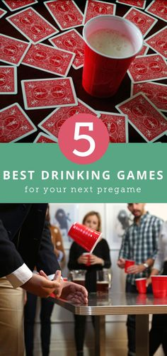 The 5 Best Drinking Games to Play If You're Pregaming