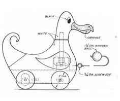 projeto gratuito no blog: Ah! E se falando em madeira...: Mov 5 - pato