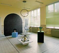 Exposition Walk The Line par le studio de design Pool. Biennale Interieur Courtrai 2014 via Goodmoods