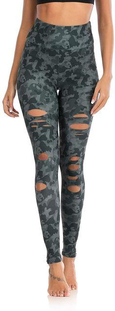 Leggings Capri, Ripped Leggings, Yoga Leggings, Workout Leggings, Workout Pants, Women's Leggings, Yoga Pants, Best Fat Burning Workout, 4 Way Stretch Fabric