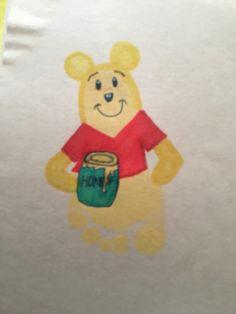 Pooh Footprint