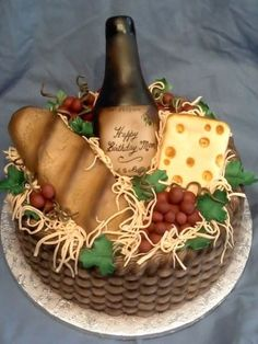 Top Wine-Inspired Cakes - Top Cakes - Cake Central
