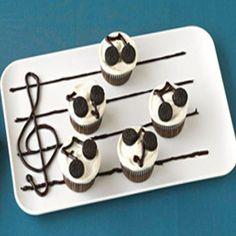 Do-Re-Me Cupcakes