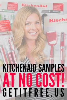Is there still space in your kitchen? If so, this offer is perfect for YOU! We have no space in our warehouse, so we need to clear out our KitchenAid samples ASAP. Click the image to redeem your free sample today!