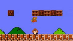 According to the instruction guide included with Super Mario Bros. , the koopas turned the inhabitants of the mushroom kingdom into blocks when they invaded, meaning Mario is contributing to the death of thousands in the game. | 19 Things You Probably Didn't Know About Super Mario Bros.