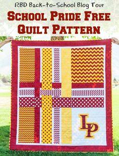 Riley Blake Designs Blog: RBD Back-to-School Blog Tour: School Pride Free Quilt Pattern