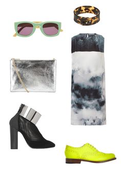 May wishlist:  silver, neon and print