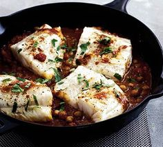 roast fish with chickpeas and ginger