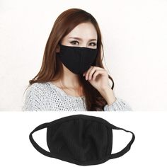Aspiring Pm2.5 Anti Dust Face Mouth Mask Cotton Anti Haze Mask Nose Filter Windproof Face Muffle Bacteria Flu Fabric Cloth Respirator Apparel Accessories