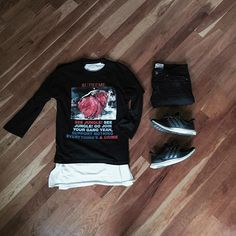 WEBSTA @ nickteeling - Friday the 13th vibes ▪️ @supremenewyork t-shirt▪️ @fog baseball 3/4 shirt▪️ @acnestudios denim▪️ @adidasoriginals ultraboost#outfitgrid #ootd #ootn #kotd #kickstagram #kicks0l0gy #outfitoftheday #outfitplace #povoutfit #outfitsociety #mensstyle #menstyle #mensfashion #streetstyle #streetwear #streatfashion #streetgoth #styleinfluencer #gq #complexmag #hypebeast #dailyswag #swag #fearofgod #ultraboost #adidasoriginals #boxlogo #gunsnroses