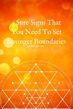 Setting boundaries is the secret to a happy life ;) . In this article, you will learn what boundaries are (and aren't) and the signs you need to set them. via @christieinge