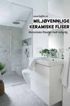 Gjør et grønt valg når du skal pusse opp! Velg materialer av høy kvalitet og gå for en stil du kan leve lenge med. Les mer her. #fagflis #fliser #miljøvennlig #resirkulert #grønnevalg Bathroom Interior, Alcove, Bathtub, Design, Malta, Small Bathroom Decorating, Small Baths, Full Bath, Bathing