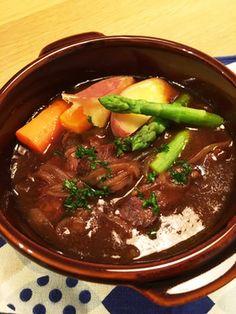 厚切り肉のビーフシチュー by たろすのmam [クックパッド] 簡単 ...