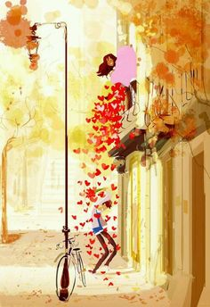 The Emotional Art Illustrations by Pascal Campion Art And Illustration, Art Illustrations, Art Amour, Pascal Campion, Inspiration Art, Belle Photo, Love Art, Amazing Art, Concept Art