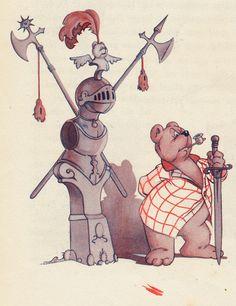 Marten Toonder♥ Tom Poes en de Watergeest 1950