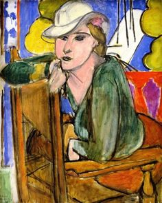 """The Green Blouse"", - Henri Matisse"
