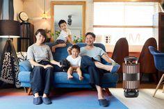 リビングでの和風機イメージ。 外装カバーを変更できるので、お部屋にあわせた外観に変更する事が可能です。 Floor Chair, Flooring, Interior Design, Room, Furniture, Home Decor, English, Nest Design, Bedroom