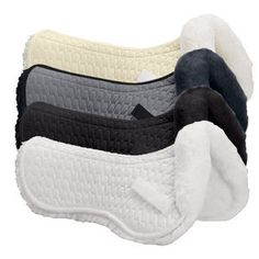 Mattes Dressage Half Pad- I think these are much more durable and attractive compared to gel or riser pads. The fleece adds extra comfort and support between the saddle and the saddle pad.