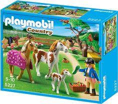 Amazon.de:PLAYMOBIL 5227 - Pferdekoppel