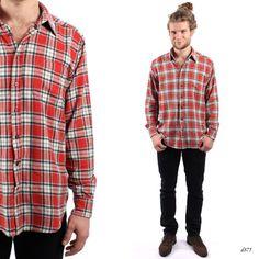 Mens Flannel Shirt