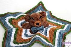 The Cuddliest Crochet Bear Lovey - Sewrella